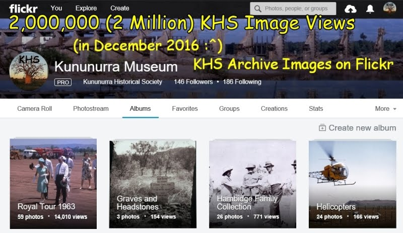 Montage KHS images on Flickr had 2,000,000 Views in Dec. 2016