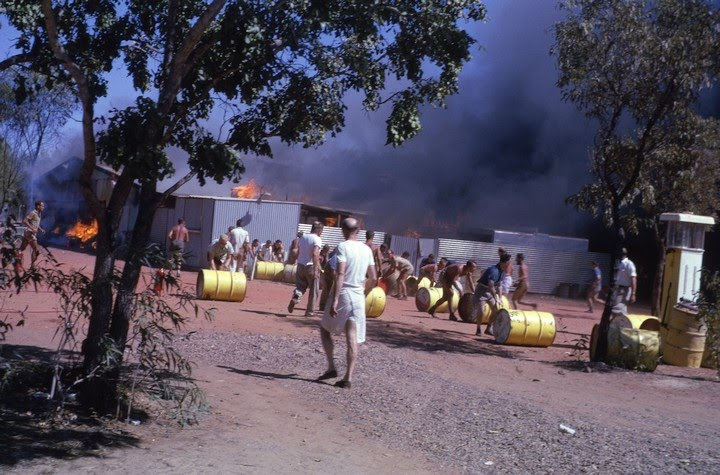 1962-08-15 - Ord River Diversion Dam - Mess Hall Fire - KHS-2010-1-hj-P2-D